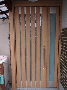 玄関ドアリフォームドアリモS08型