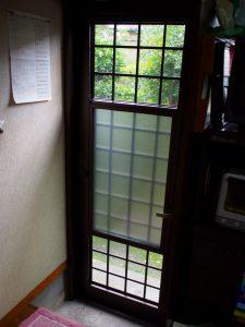 奈良県玄関リフォーム リフォーム勝手口ドア